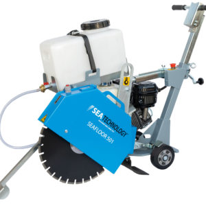 Simple and fast laying of the optical fiber with the SEAFLOOR 501