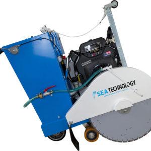Una macchina taglia suolo per molteplici utilizzi